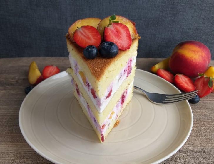 Skutna sadna torta