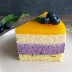 Borovničevo breskova torta
