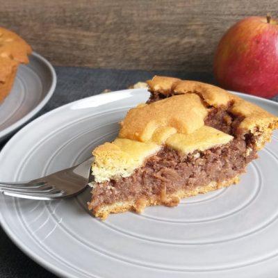 Pita z jabolki in orehi recept naslovna