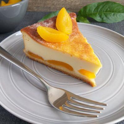 Pečen mascarpone cheesecake z marelicami recept naslovna slika