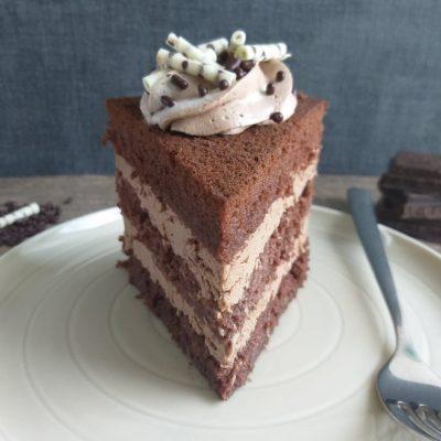 Čokoladna torta slika prikazna recept