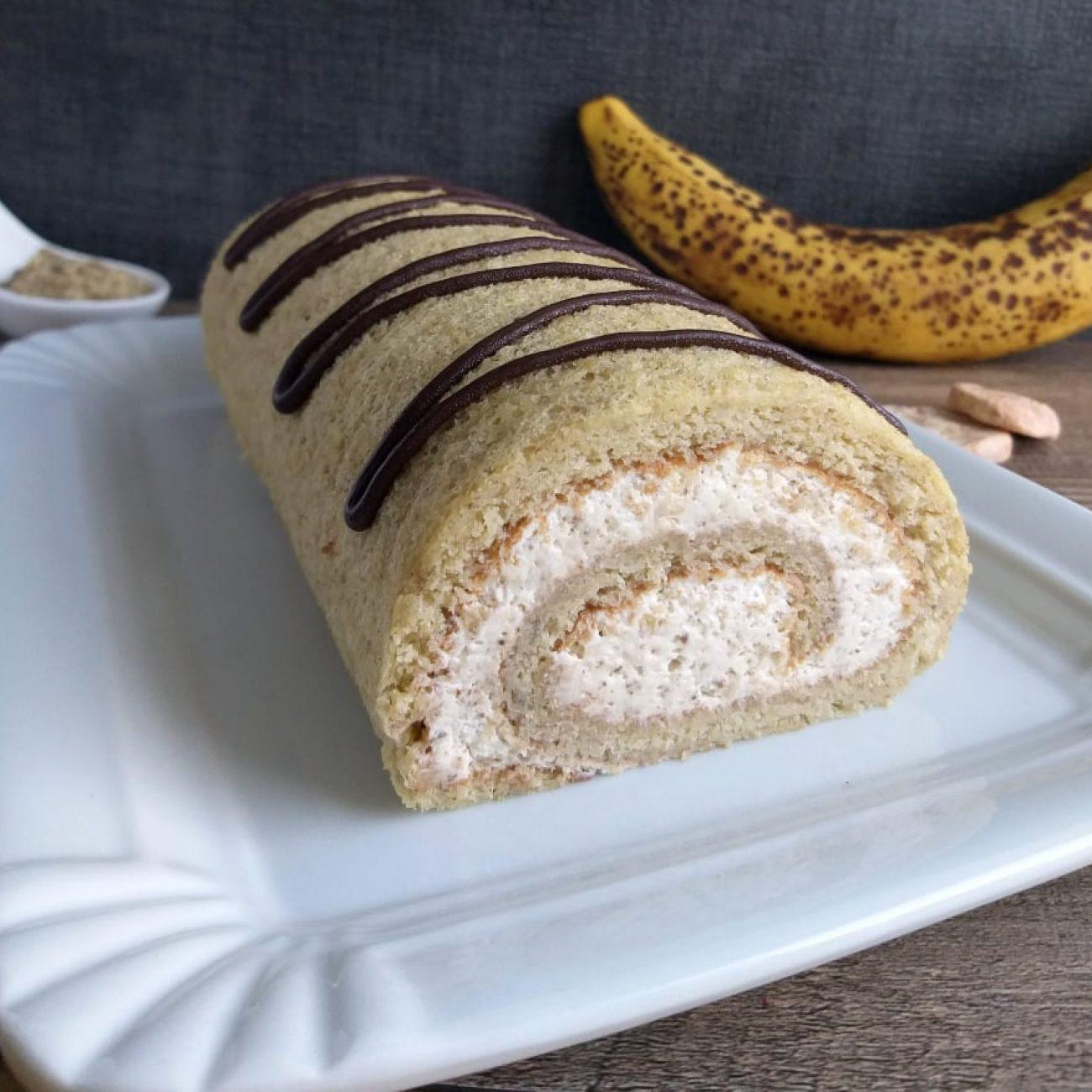 Bananino orehova rolada