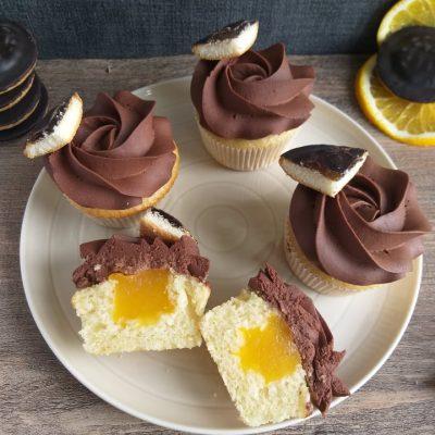 Čokoladno pomarančni jaffa cupcakes slika naslovna recept