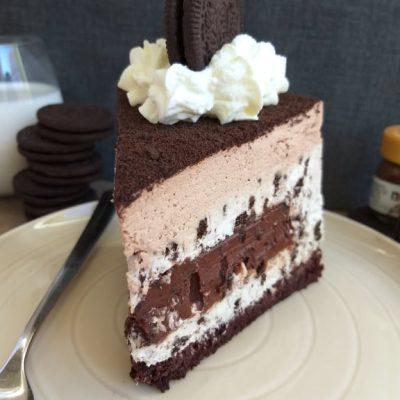 Oreo in Nutella torta recept naslovna slika
