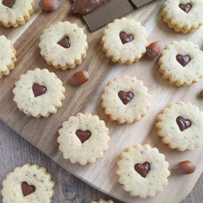 Lešnikovi piškoti z Nutello naslovna slika recept